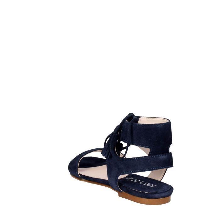 Keys Sandale Femme Bleu, 39