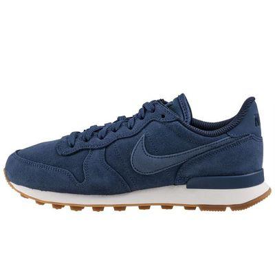 low priced 5453a ac205 Se Nike Internationalist Bleu Femme Baskets z5BfOqw5