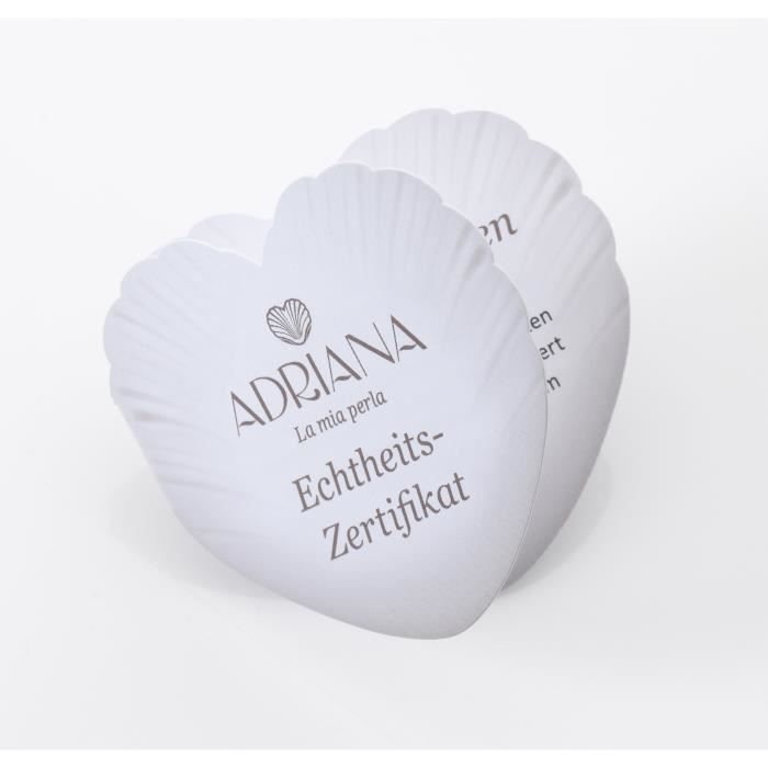 Adriana Haut Éclat blanc 6,0 mm ronde perles deau douce en or blanc 14 carats Boucles doreilles 1NVFX1