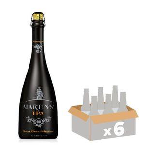 BIÈRE BRASSERIE J MARTIN IPA Bière Blonde - 75 cl x6 - 6