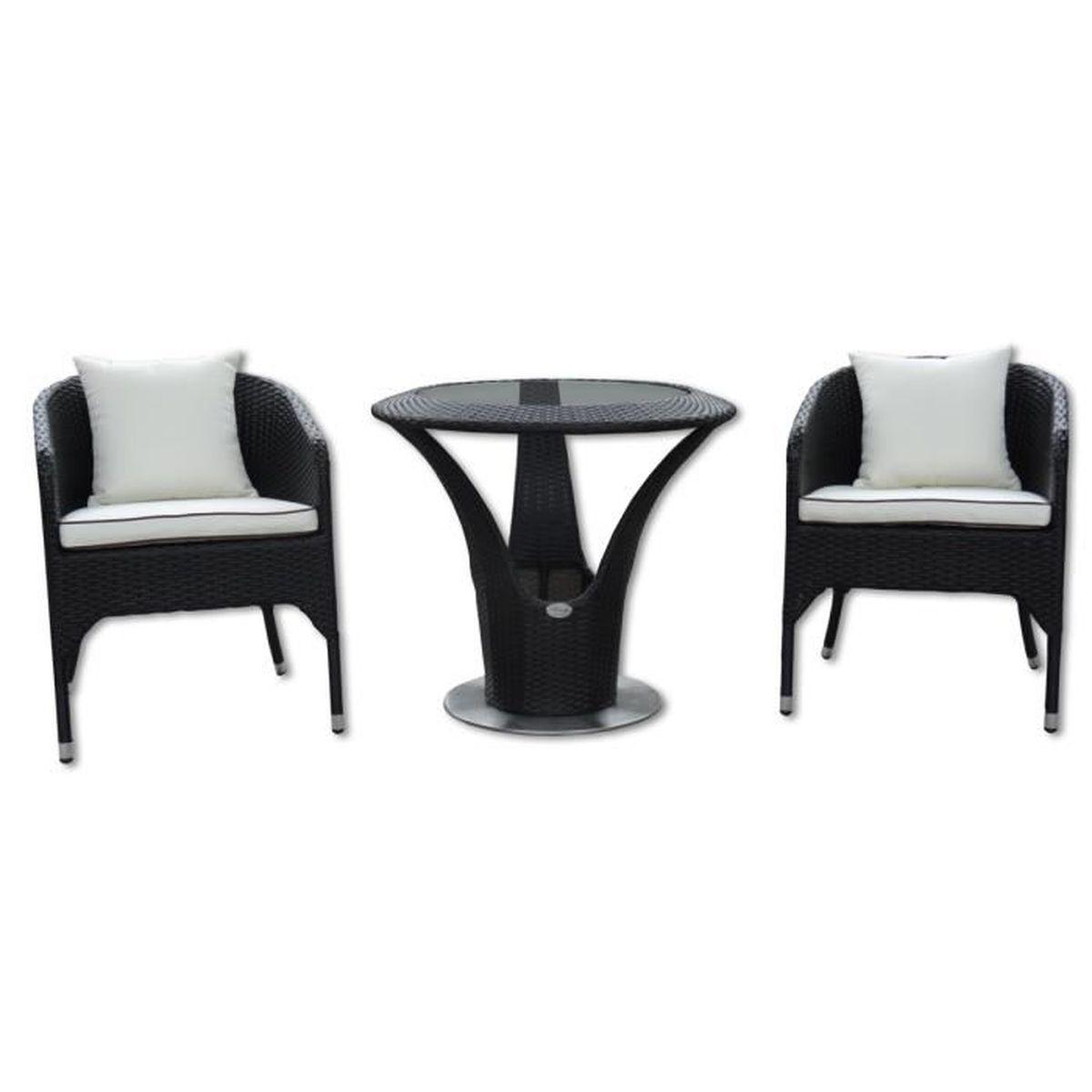 Bistrot lounge, set de meubles de jardin et extérieur en rotin ...