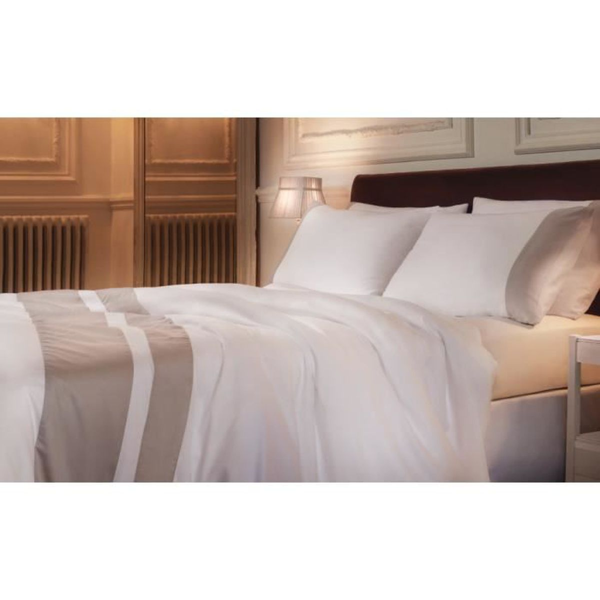 housse de couette luxe achat vente pas cher. Black Bedroom Furniture Sets. Home Design Ideas