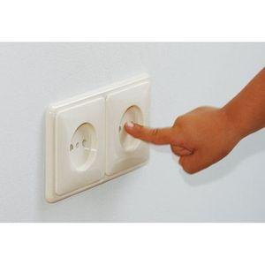 CACHE PRISE SAFETY 1ST 8 cache-prises à rotation