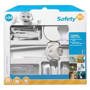 KIT SÉCURITÉ BÉBÉ SAFETY 1st 24 articles pour la sécurité des enfant