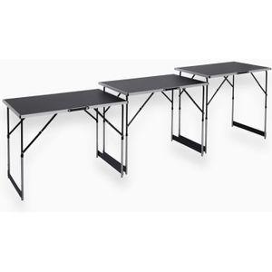 ETABLI - MEUBLE ATELIER MEISTER Lot de 3 tables à tapisser - Tables multif