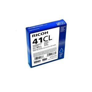 Ricoh Cartouche d'encre Gel Cyan  GC41CL