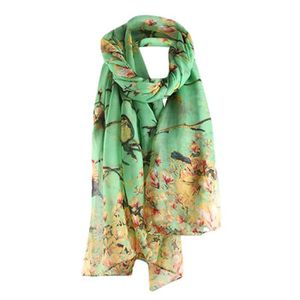 ECHARPE - FOULARD beguin® femme Long Châle chaud Wrap Châle Floral i ... 8da0250a360