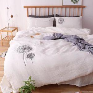 linge de lit en lin lave achat vente linge de lit en lin lave pas cher soldes d s le 10. Black Bedroom Furniture Sets. Home Design Ideas