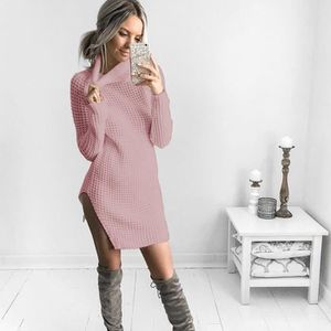 PULL MODE FEMMES MANCHES LONGUES COL ROULé PULL-OVER mi ...