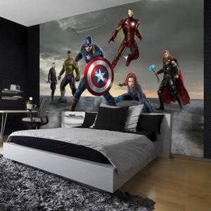 PAPIER PEINT Papier Peint Avengers 368 x 254 cm –  Ironman, Hul