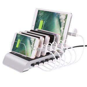 CÂBLE TÉLÉPHONE Station de Charge USB avec 6 Ports USB de recharge