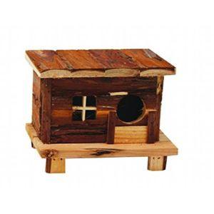 ACCESSOIRE ABRI ANIMAL Croci Maison Andy En Bois Pour Petits Animaux 18x1