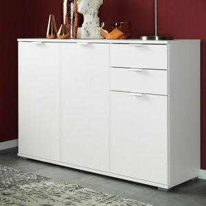 commode porte coulissante achat vente pas cher. Black Bedroom Furniture Sets. Home Design Ideas
