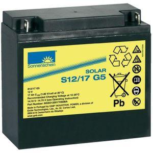 BATTERIE DOMOTIQUE Batterie plomb-gel 12V 17 Ah Exide S12/17 G5