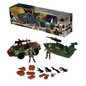MALLETTE MULTI-JEUX Coffret Military Forces (2)
