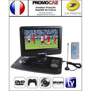 LECTEUR DVD PORTABLE DVD-Console jeux portable 12.5 pouces (MP3,MP4,TV,