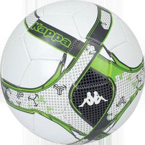 BALLON DE FOOTBALL Lot de 24 ballons Kappa Donato - blanc-vert - Tail