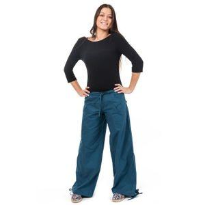 2aa88168c5b31e Fantazia - Pantalon yoga zen femme - Pa Bleu Bleu - Achat / Vente ...