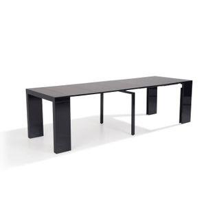 table extensible 14 personnes achat vente pas cher. Black Bedroom Furniture Sets. Home Design Ideas
