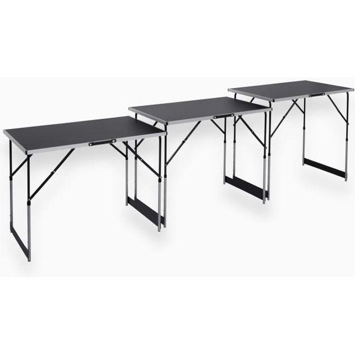 MEISTER Lot de 3 tables à tapisser - Tables multifonctions
