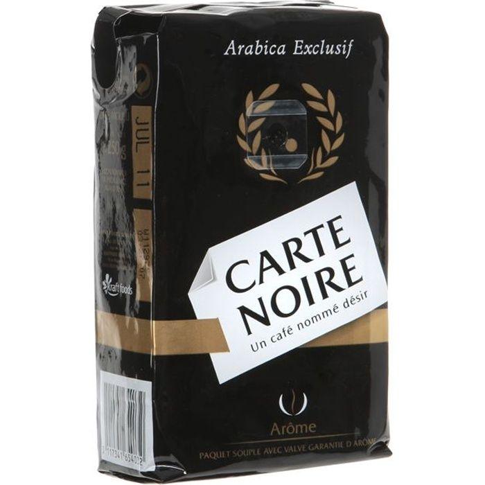 Cafe Carte Noir
