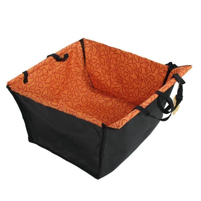 Tapis De Siege Etanche La Voirute Hamac Pour Les Chiens Et Chats - Orange