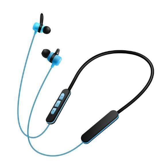 Bluetooth Écouteur Sans Fil Avec Courroie De Cou Portable Caisson Basses Eardphones Sport Micro
