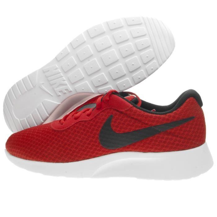 Rouge Vente Nike Tanjun Achat Basket Cdiscount by6IYgvf7m
