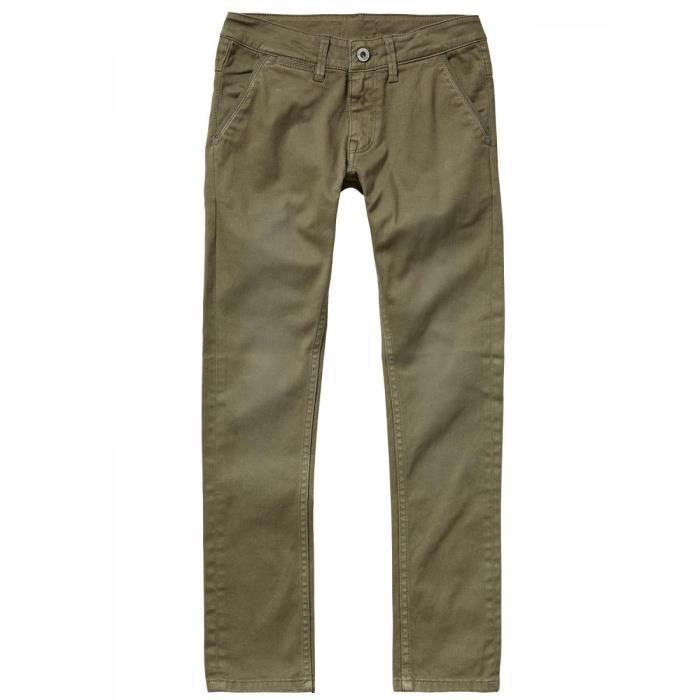 47b426dc22e PEPE JEANS - Pantalon chino kaki enfant garçon pepe jeans Vert Kaki ...