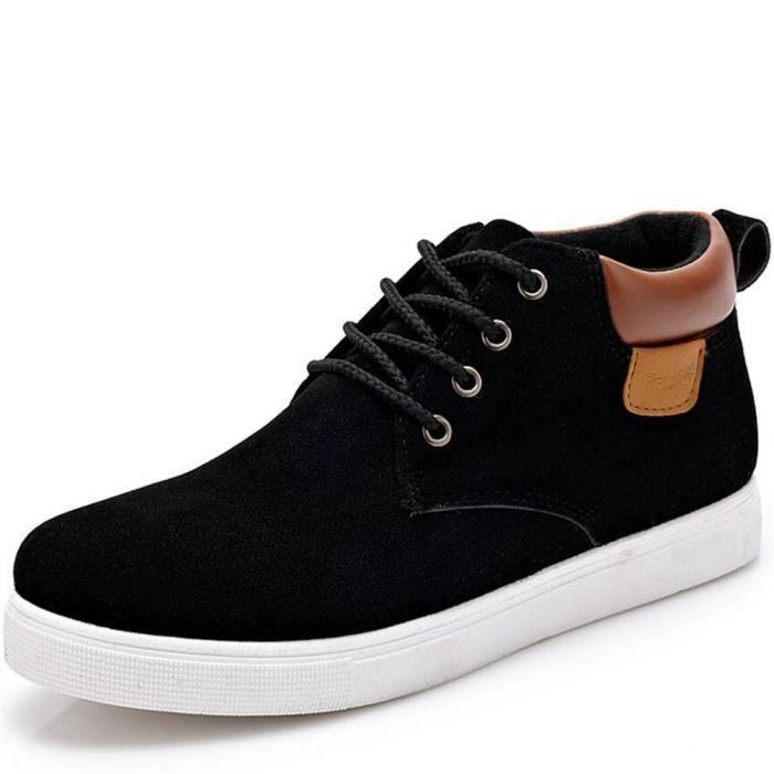 Daim Marque chaussures hommes véritable casual en cuir daim marque hommes