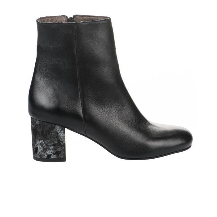 Boots femme - MIGLIO - Noir - 17-496 - Millim
