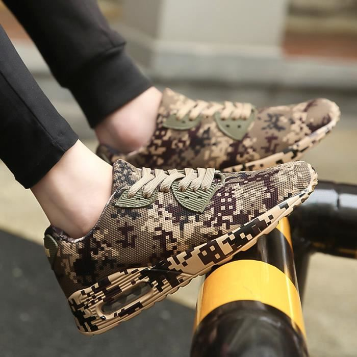 Hommes Mâle Camouflage Augmenter Hauteur Chaussures Confort Grand xz384 Taille Gd 1wqq54CI