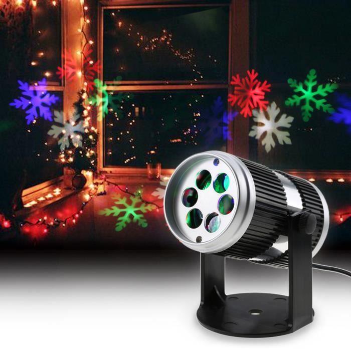 4w 4led Projecteur Film Motif Lumineux Lampe De Decoration Actif