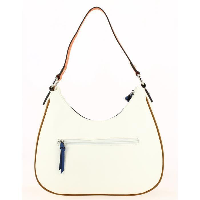 Sac porté épaule Francinel Blanc Multi 34,0 (L) x 21,0 (H) x 8,0 (E) cm