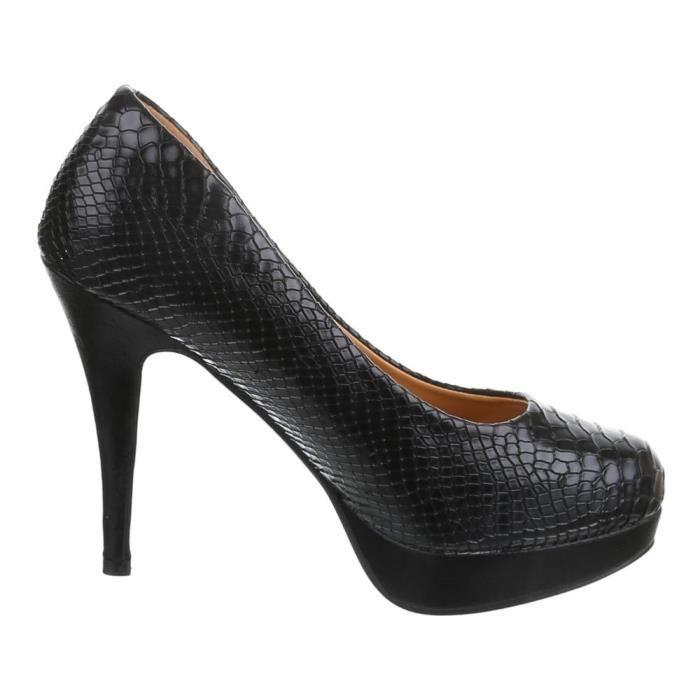 Chaussures femmes Escarpins Plateau Talon haut