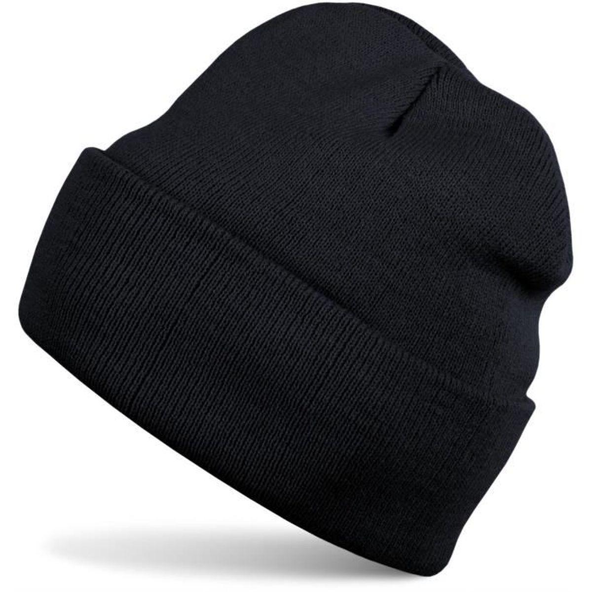 ... bonnets pour enfants. BONNET - CAGOULE styleBREAKER Bonnet en laine  classique type Beanie e02fd0cae60