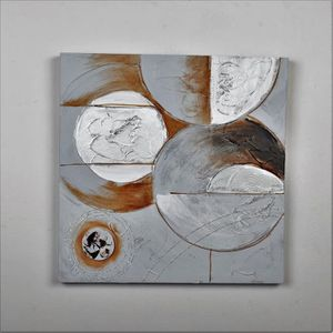 TABLEAU - TOILE Tableau déco Modern  43 -  Toile peinte à la main