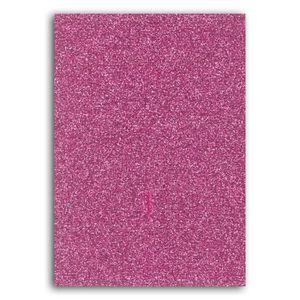 Oh ! Glitter Carnet d idée glitter décorer 7x10cm rose