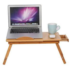 SUPPORT PC ET TABLETTE Table d'ordinateur table de lit pour ordinateur po