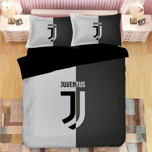 PARURE DE DRAP Juventus F.C. Parure de lit 3 pièces de Marque fan