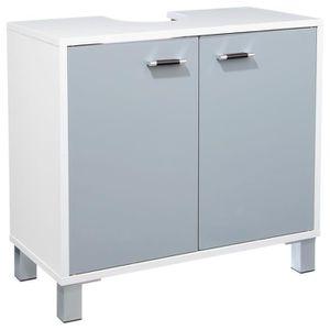 meuble bas commode sdb meuble bas de salle de bain gris - Commode Salle De Bain Pas Cher
