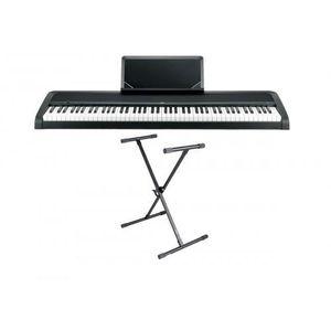 PIANO Pack Korg B1 noir  - Piano numérique 88 notes + St