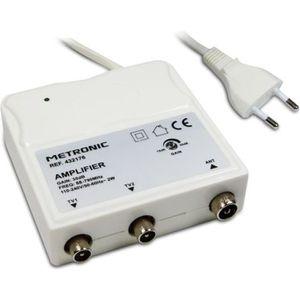 ANTENNE RATEAU METRONIC 432176 Amplificateur d'intérieur à réglag
