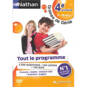 CULTURE Nathan Graines de Génie 4e Primaire 9-10 ans - PC