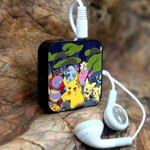 MP3 ENFANT 1PCS Cartoon Mini lecteur MP3 avec écouteurs + USB