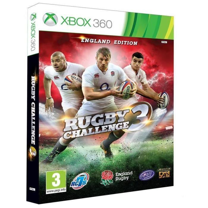 JEU XBOX 360 Rugby Challenge 3 Jeu Xbox 360