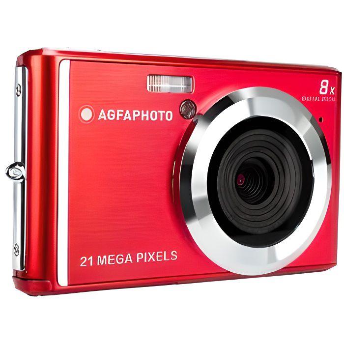 AGFA PHOTO - Appareil Photo Numérique Compact Cam DC5200 - Rouge