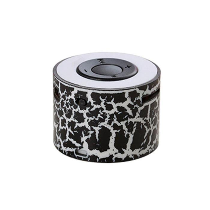 Mini Haut-parleurs Stéréo Portable Haut-parleur Mp3 Tf De Bk