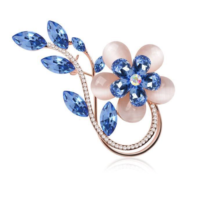 Womens Fashion Tulip Flower Fox Mermaid Brooches Pins Scarf Clips Unisex For &wedding-dailywear-ba HQXI0