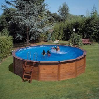 kit piscine hors sol bois 2 80m x 1 20m achat vente piscine kit piscine hors sol bois 2. Black Bedroom Furniture Sets. Home Design Ideas